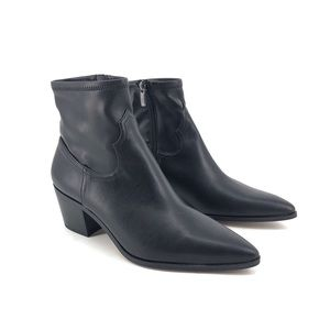 Franco Sarto Shaneen Western Ankle Booties 9.5